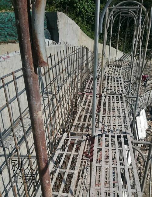 山坡擋土牆,昶太企業