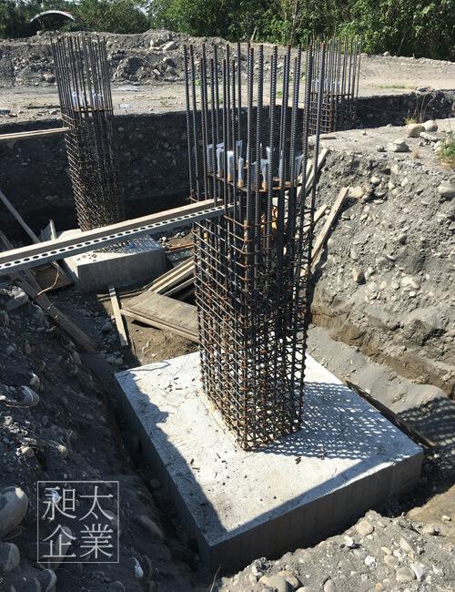 鋼構獨立基礎施工,昶太企業